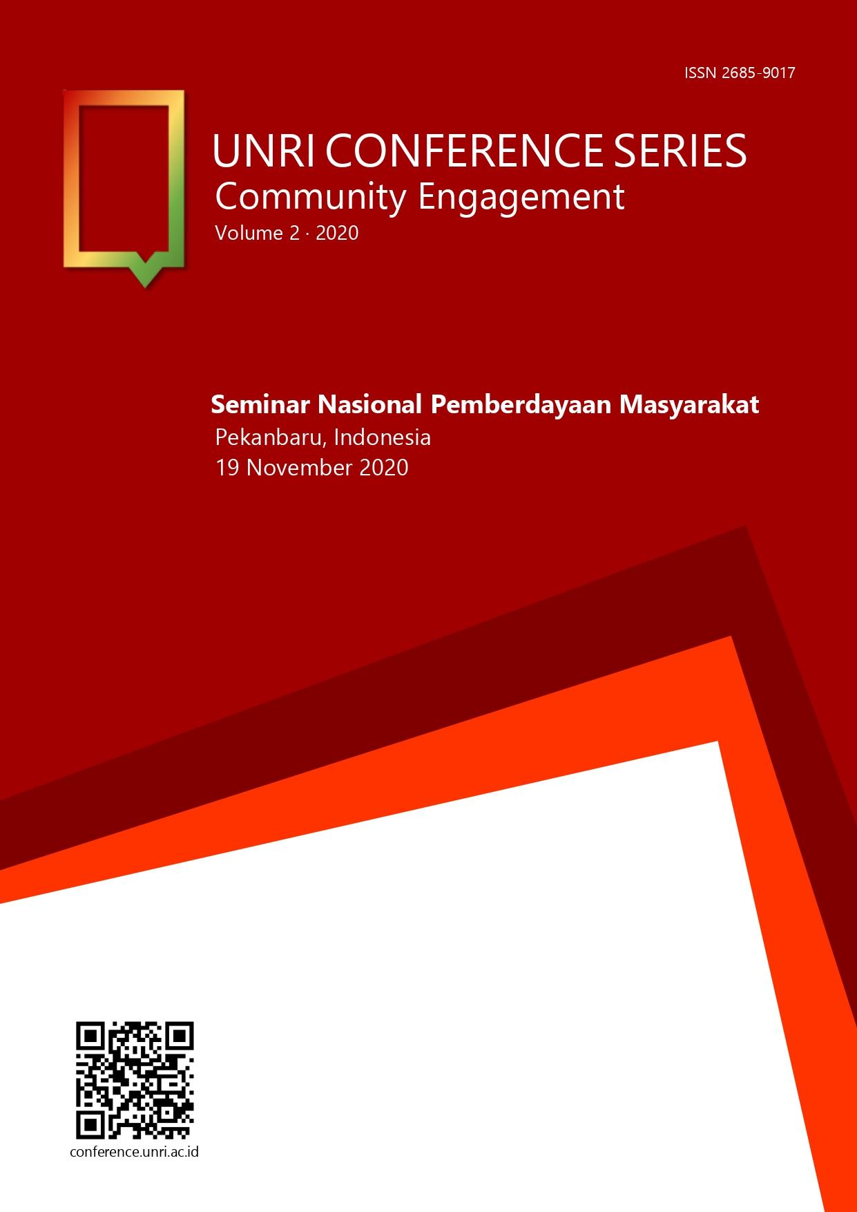 Unri Conference Series: Community Engagement